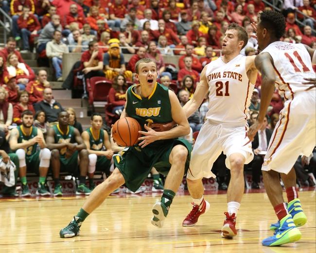 North Dakota State Bison vs. UT-Rio Grande Valley Vaqueros - 12/22/15 College Basketball Pick, Odds, and Prediction