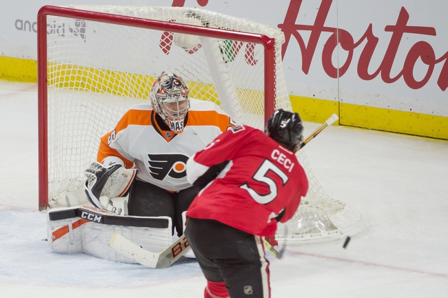 Flyers vs. Senators - 4/2/16 NHL Pick, Odds, and Prediction