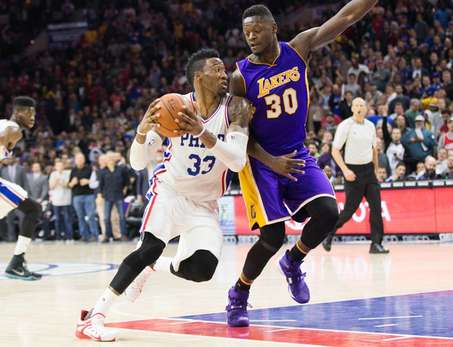 76ers at Lakers - 1/1/16 NBA Pick, Odds, and Prediction