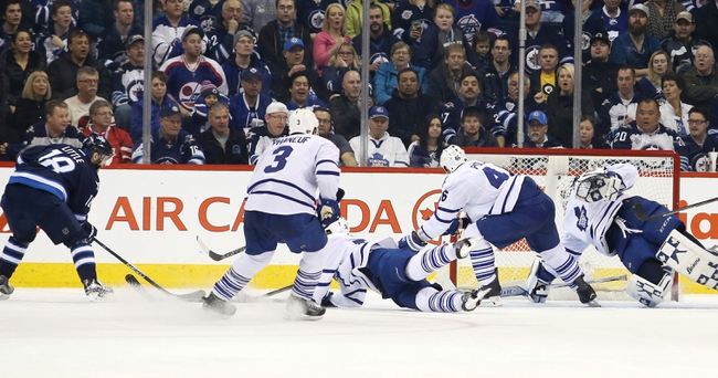 Winnipeg Jets vs. Toronto Maple Leafs - 10/19/16 NHL Pick, Odds, and Prediction