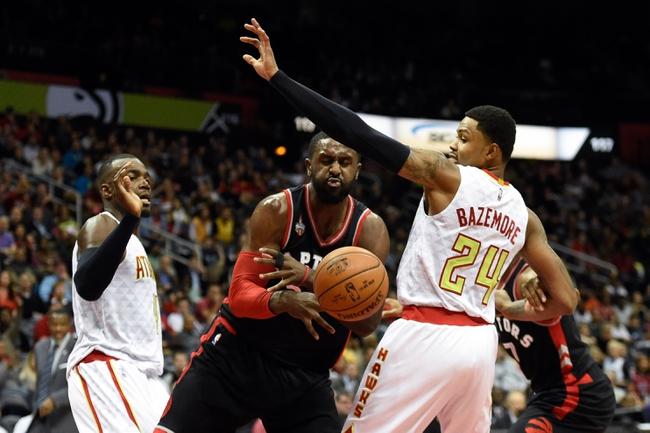 Atlanta Hawks at Toronto Raptors - 3/10/16 NBA Pick, Odds, and Prediction