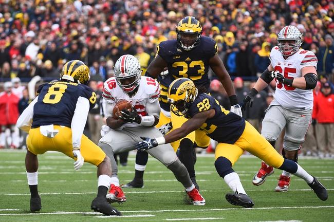 Ohio State vs. Michigan - 11/26/16 College Football Pick, Odds, and Prediction