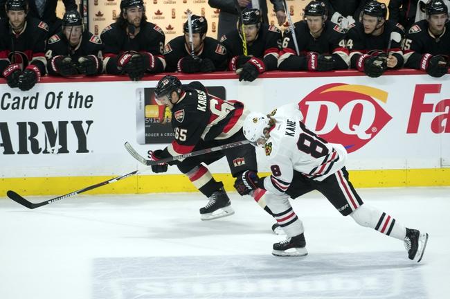 Chicago Blackhawks vs. Ottawa Senators - 1/3/16 NHL Pick, Odds, and Prediction