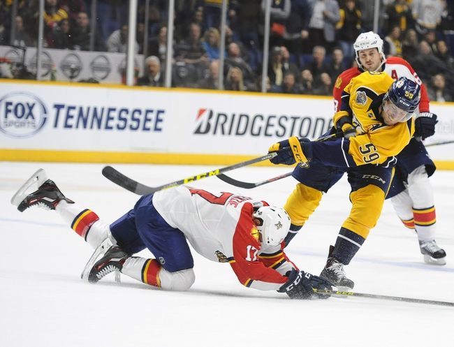 Panthers vs. Predators - 2/13/16 NHL Pick, Odds, and Prediction