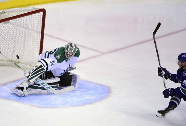 Vancouver Canucks vs. Dallas Stars - 11/13/16 NHL Pick, Odds, and Prediction