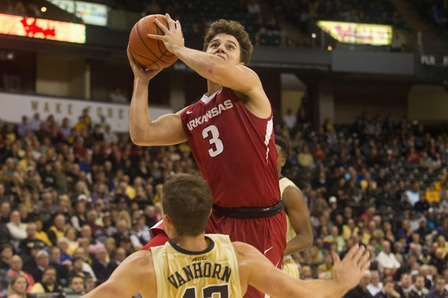 Arkansas vs. Tennessee Tech - 12/12/15 College Basketball Pick, Odds, and Prediction