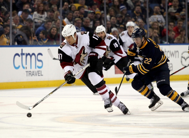 Coyotes vs. Sabres - 1/18/16 NHL Pick, Odds, and Prediction