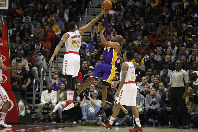 Lakers vs. Hawks - 3/4/16 NBA Pick, Odds, and Prediction