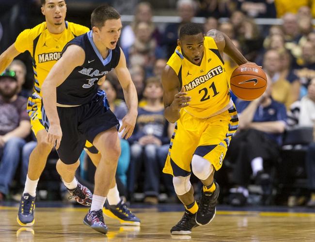 Marquette vs. San Jose State - 12/8/15 College Basketball Pick, Odds, and Prediction