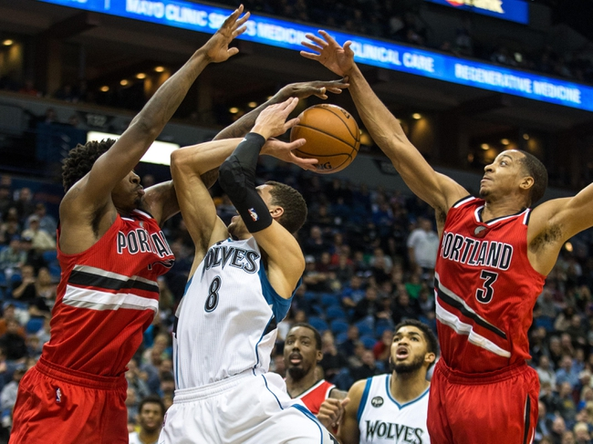 Timberwolves at Trail Blazers - 1/31/16 NBA Pick, Odds, and Prediction