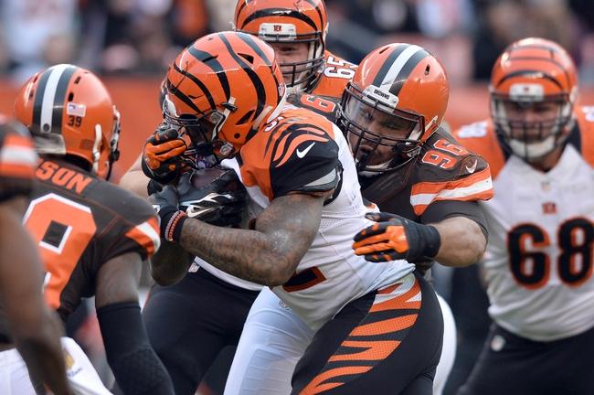 Cincinnati Bengals vs. Cleveland Browns - 10/23/16 NFL Pick, Odds, and Prediction
