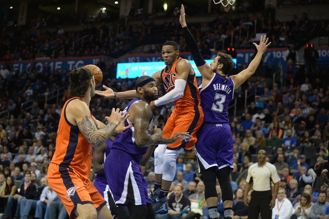 Thunder vs. Kings - 1/4/16 NBA Pick, Odds, and Prediction