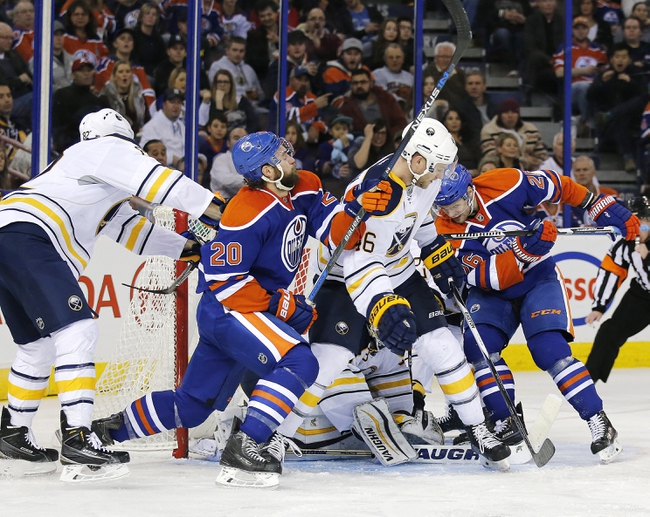 Sabres vs. Oilers - 3/1/16 NHL Pick, Odds, and Prediction
