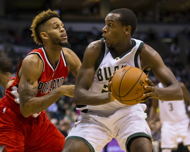 Bucks at Trail Blazers - 2/2/16 NBA Pick, Odds, and Prediction