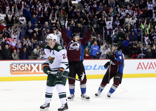 Wild vs. Avalanche - 3/1/16 NHL Pick, Odds, and Prediction