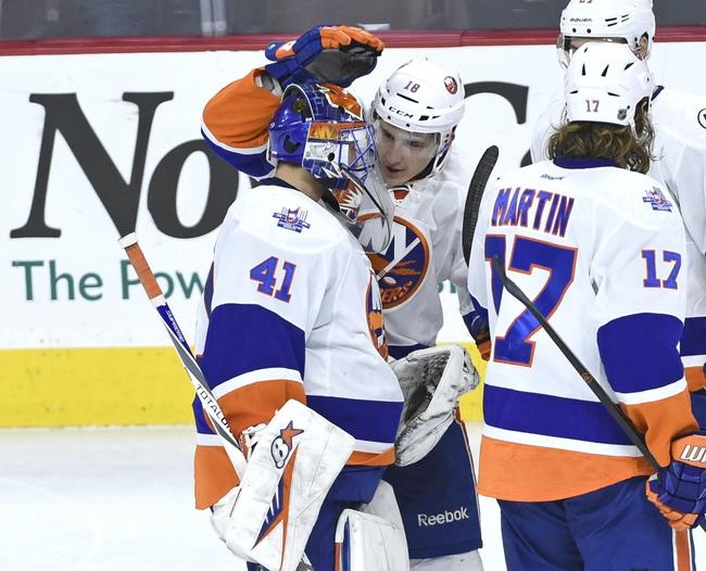 New York Islanders vs. Philadelphia Flyers - 3/21/16 NHL Pick, Odds, and Prediction