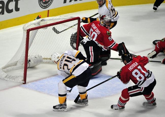 Nashville Predators vs. Chicago Blackhawks - 12/10/15 NHL Pick, Odds, and Prediction