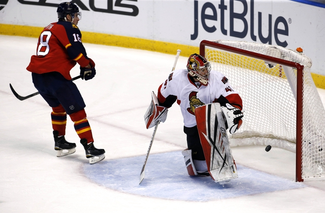 Florida Panthers vs. Ottawa Senators - 12/22/15 NHL Pick, Odds, and Prediction