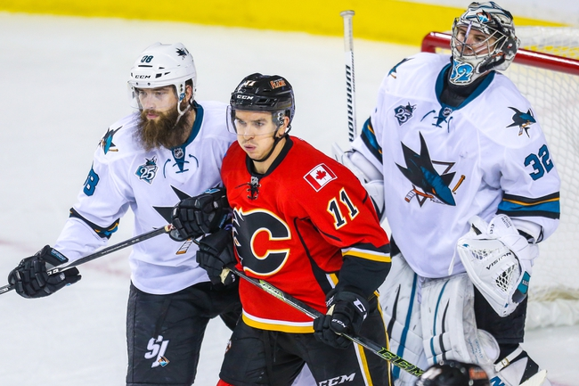 Calgary Flames vs. San Jose Sharks - 1/11/16 NHL Pick, Odds, and Prediction