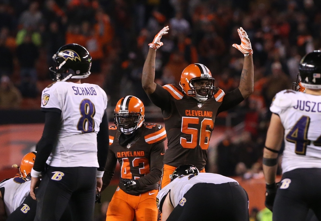 Cleveland Browns vs. Baltimore Ravens - 9/18/16 NFL Pick, Odds, and Prediction