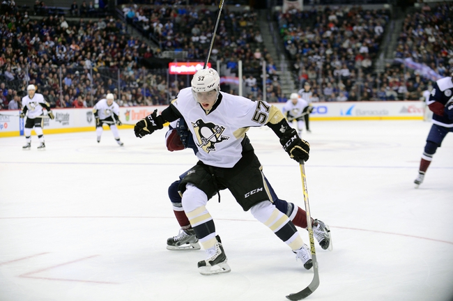 Pittsburgh Penguins vs. Colorado Avalanche - 10/17/16 NHL Pick, Odds, and Prediction