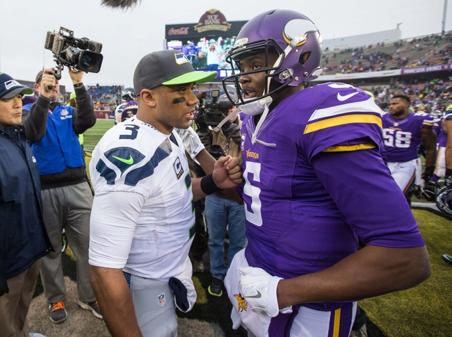 Seahawks at Vikings - 1/10/16 NFL Wild Card Pick, Odds, and Prediction