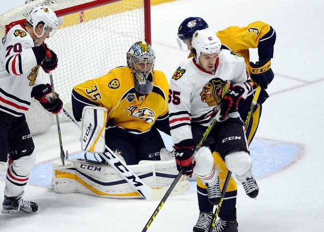 Chicago Blackhawks vs. Nashville Predators - 1/12/16 NHL Pick, Odds, and Prediction