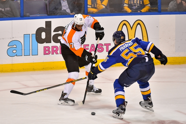 Philadelphia Flyers vs. St. Louis Blues - 12/21/15 NHL Pick, Odds, and Prediction
