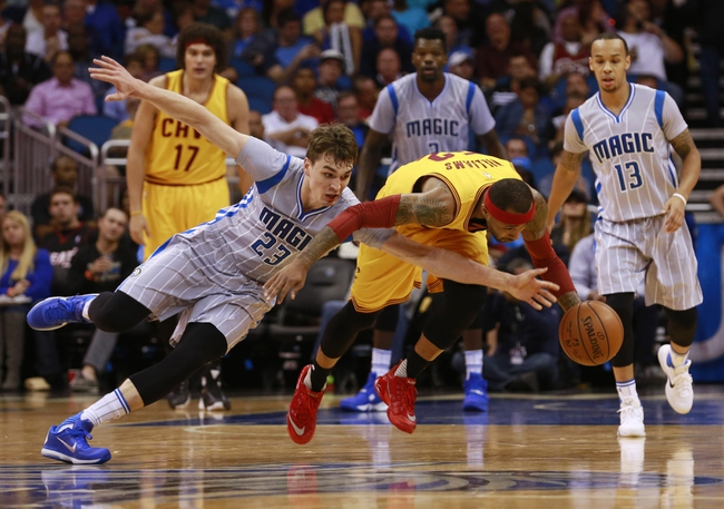 Cleveland Cavaliers vs. Orlando Magic - 1/2/16 NBA Pick, Odds, and Prediction