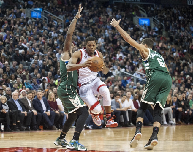 Milwaukee Bucks vs. Toronto Raptors - 12/26/15 NBA Pick, Odds, and Prediction