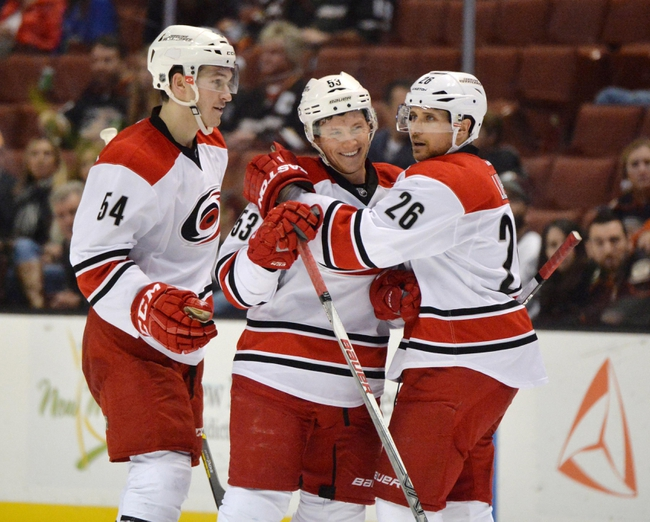 Carolina Hurricanes vs. Anaheim Ducks - 11/10/16 NHL Pick, Odds, and Prediction