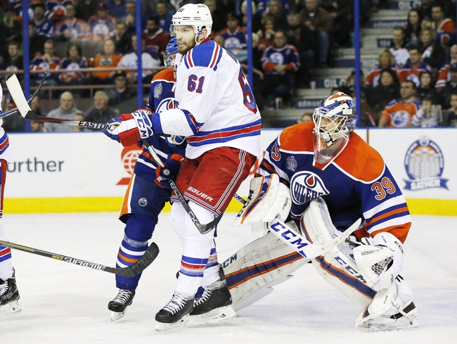 New York Rangers vs. Edmonton Oilers - 12/15/15 NHL Pick, Odds, and Prediction