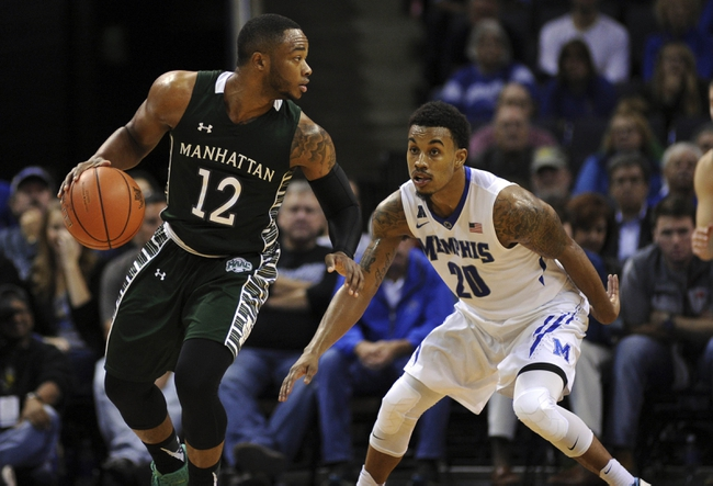 Manhattan Jaspers vs. Niagara Purple Eagles - 1/17/16 College Basketball Pick, Odds, and Prediction