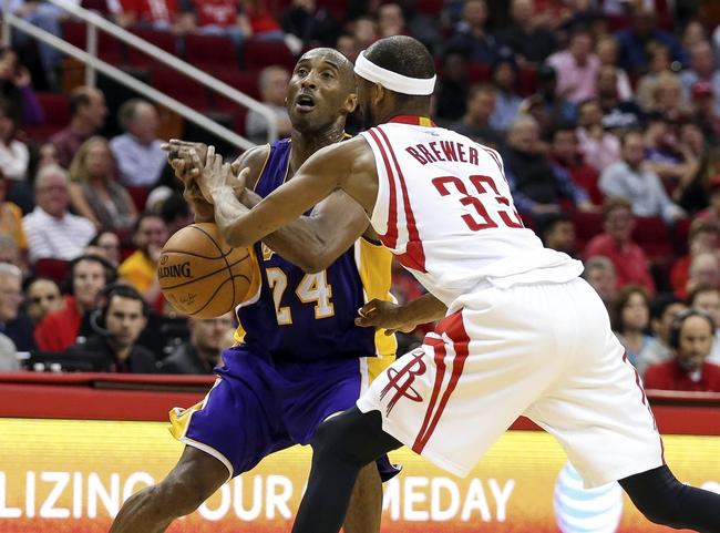 Rockets at Lakers - 12/17/15 NBA Pick, Odds, and Prediction