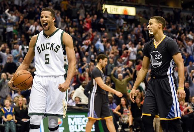 Golden State Warriors vs. Milwaukee Bucks - 12/18/15 NBA Pick, Odds, and Prediction