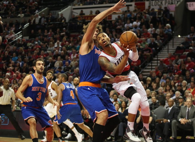 Portland Trail Blazers at New York Knicks  - 3/1/16 NBA Pick, Odds, and Prediction
