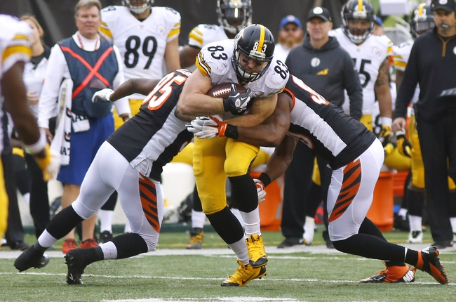 Cincinnati Bengals vs. Pittsburgh Steelers NFL AFC Wildcard Playoff - 1/9/16 NFL Pick, Odds, and Prediction
