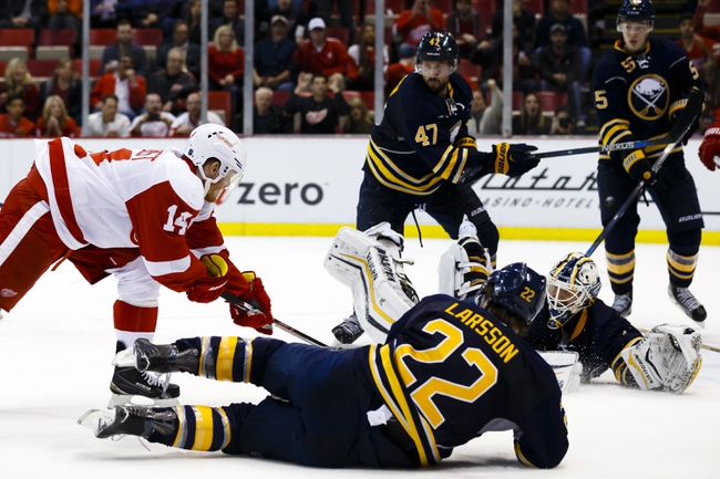 Buffalo Sabres vs. Detroit Red Wings - 1/2/16 NHL Pick, Odds, and Prediction