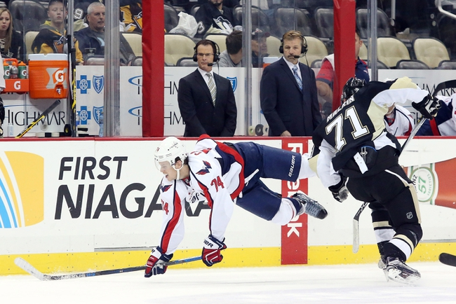 Washington Capitals vs. Pittsburgh Penguins - 3/1/16 NHL Pick, Odds, and Prediction