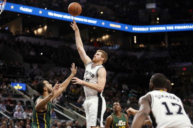 San Antonio Spurs vs. Utah Jazz - 1/6/16 NBA Pick, Odds, and Prediction
