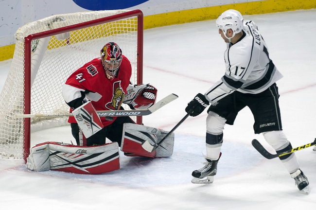 Kings vs. Senators - 1/16/16 NHL Pick, Odds, and Prediction