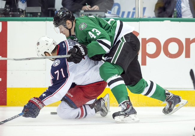 Columbus Blue Jackets vs. Dallas Stars - 12/29/15 NHL Pick, Odds, and Prediction