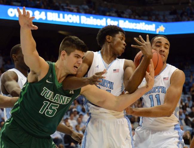 Tulane vs. North Carolina - 11/11/16 College Basketball Pick, Odds, and Prediction