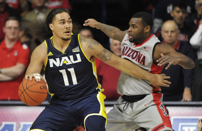 Montana Grizzlies vs. Northern Arizona Lumberjacks - 2/13/16 College Basketball Pick, Odds, and Prediction