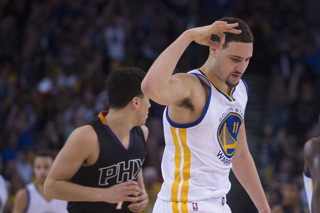 Golden State Warriors at Phoenix Suns - 2/10/16 NBA Pick, Odds, and Prediction