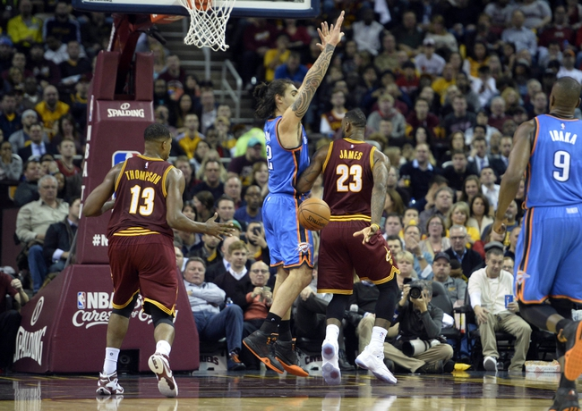 Thunder vs. Cavaliers - 2/21/16 NBA Pick, Odds, and Prediction