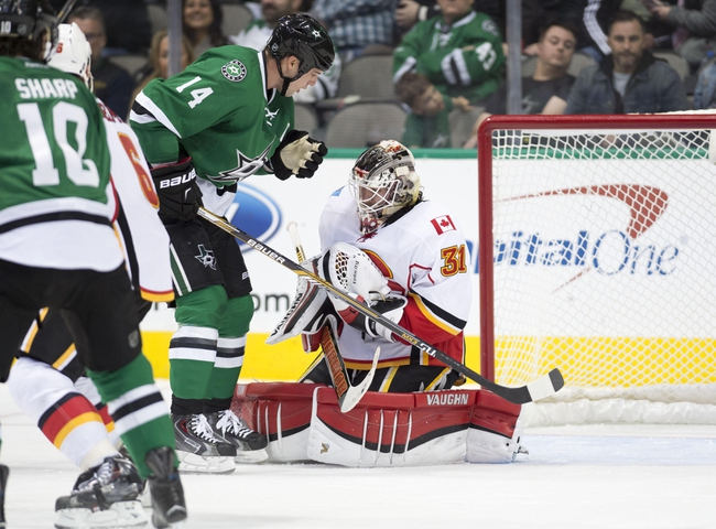 Dallas Stars vs. Calgary Flames - 1/25/16 NHL Pick, Odds, and Prediction