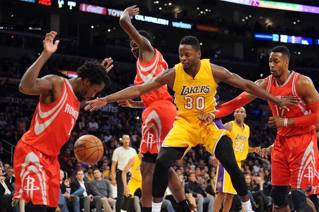 Rockets at Lakers - 1/17/16 NBA Pick, Odds, and Prediction