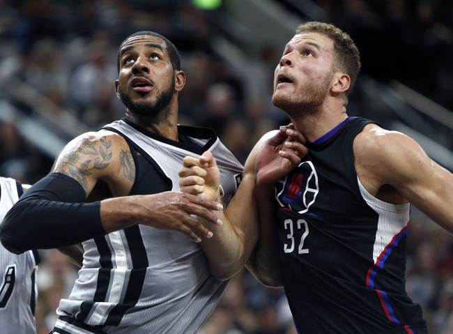Clippers vs. Spurs - 2/18/16 NBA Pick, Odds, and Prediction