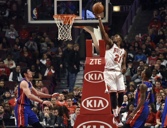 Pistons vs. Bulls - 1/18/16 NBA Pick, Odds, and Prediction